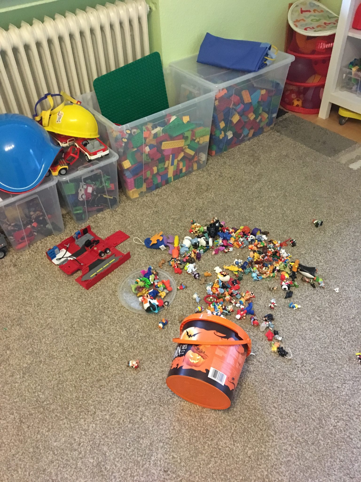 Kinderzimmer/tagaustagein