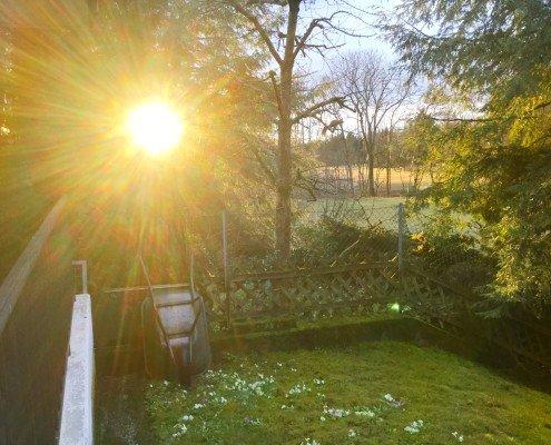 Sonnenaufgang/tagaustagein