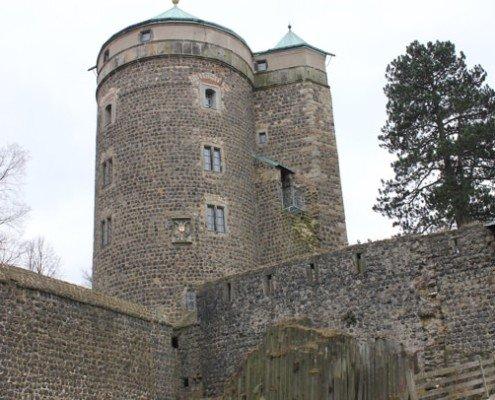Burg stoppen/tagaustagein