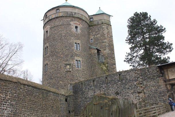 Zu Besuch bei Gräfin Cosel auf Burg Stolpen