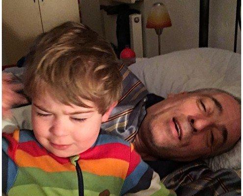 Papa und Ludwig/tagaustagein