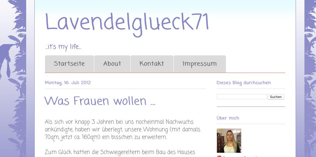 Blog Lavendelglueck