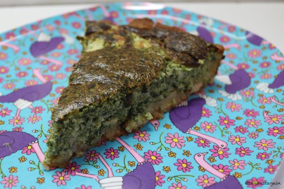 Rezept für Lachs Spinat Quiche aus dem Thermomix