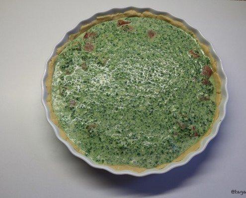 Lachs-Spinat-Quiche/tagaustagein