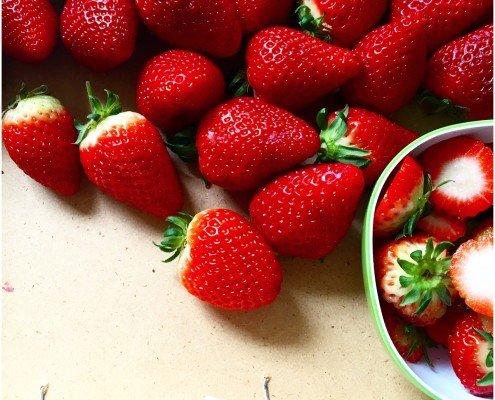 Erdbeeren tagaustagein