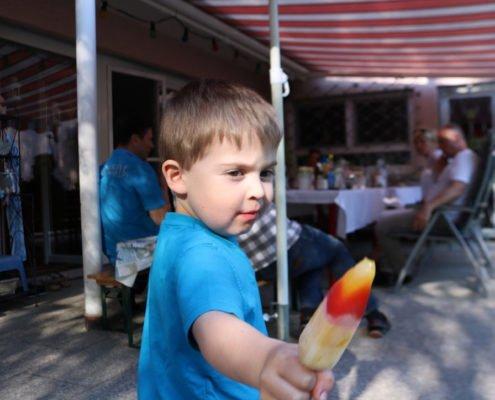 Gartenfest Taufe