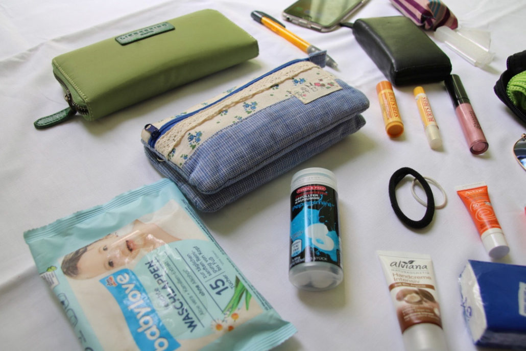 What's in my bag…Taschengeheimnisse