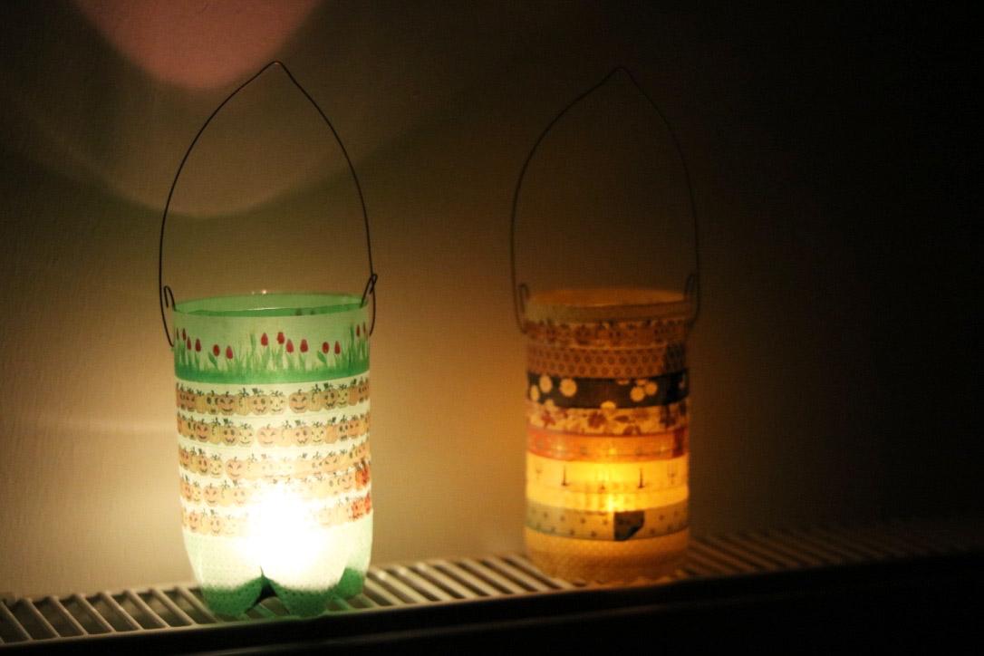 Weihnachtsbasteln Für Kleinkinder.Laterne Basteln Für Kleinkinder Aus Plastikflaschen