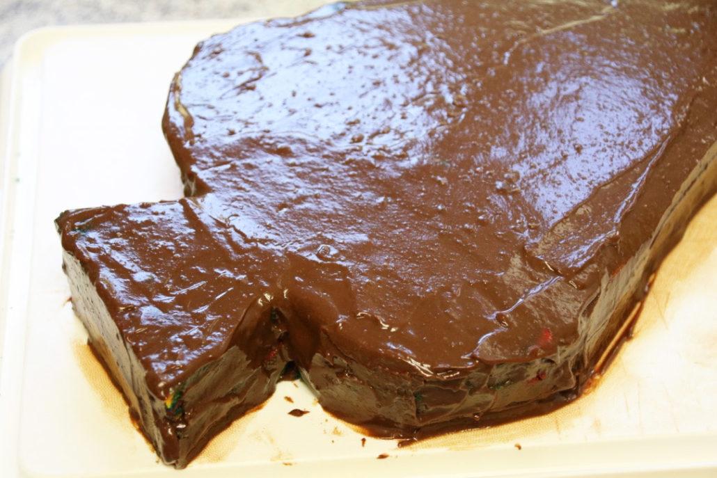 Rezept Zuckertütenkuchen, Torte zur Einschulung, Kuchen in Form einer Schultüte, Schultüte backen, einfacher Kuchen Schulanfang, Kuchen zur Einschulung