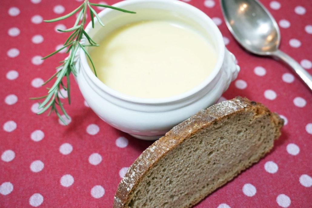 Kartoffelsuppe mit Parmesan – Nix für Suppenkasper!