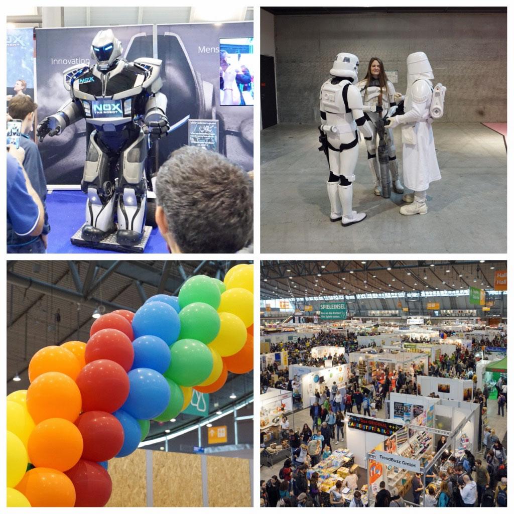 Herbstaktivitäten mit Kindern, Spielemesse Stuttgart, Stuttgarter Messe-Herbst