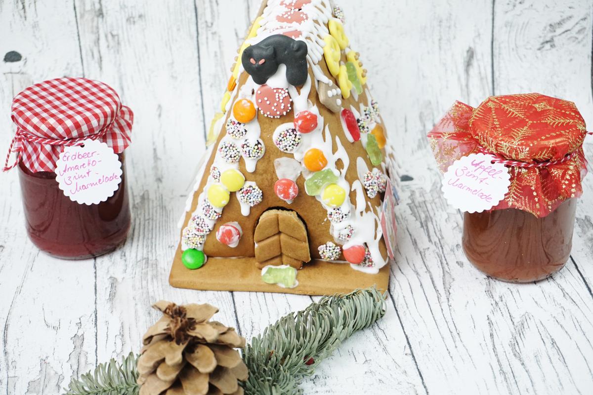 Weihnachtliche Marmelade zum Verschenken – da freut sich die Omi…