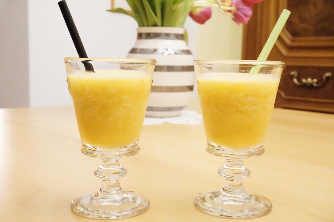 Pfirsich-Orangen-Cocktail – Nicht nur was für heissse Tage…