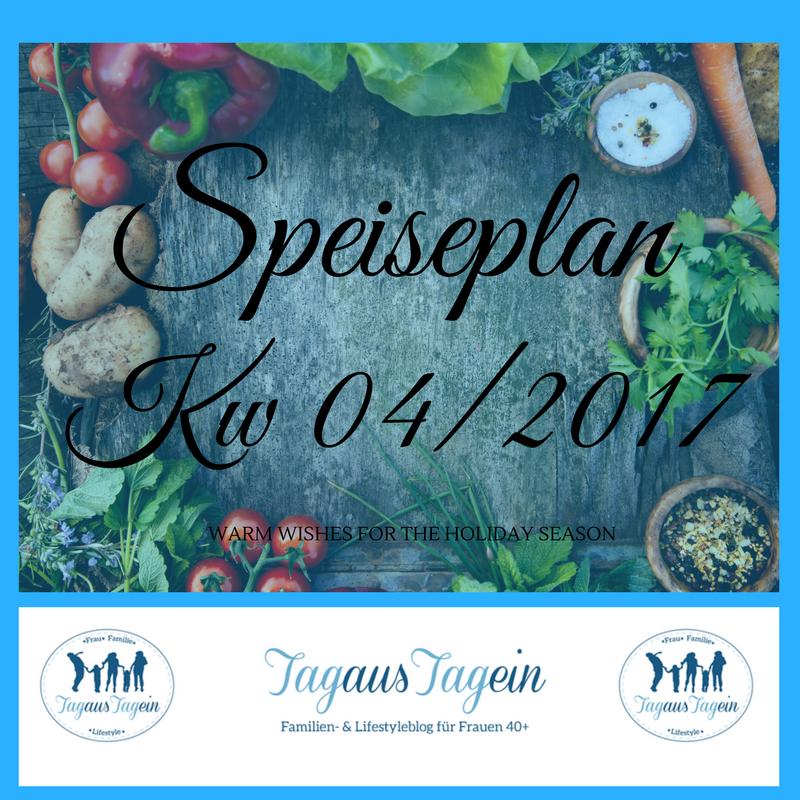 Speiseplan Wochenplan
