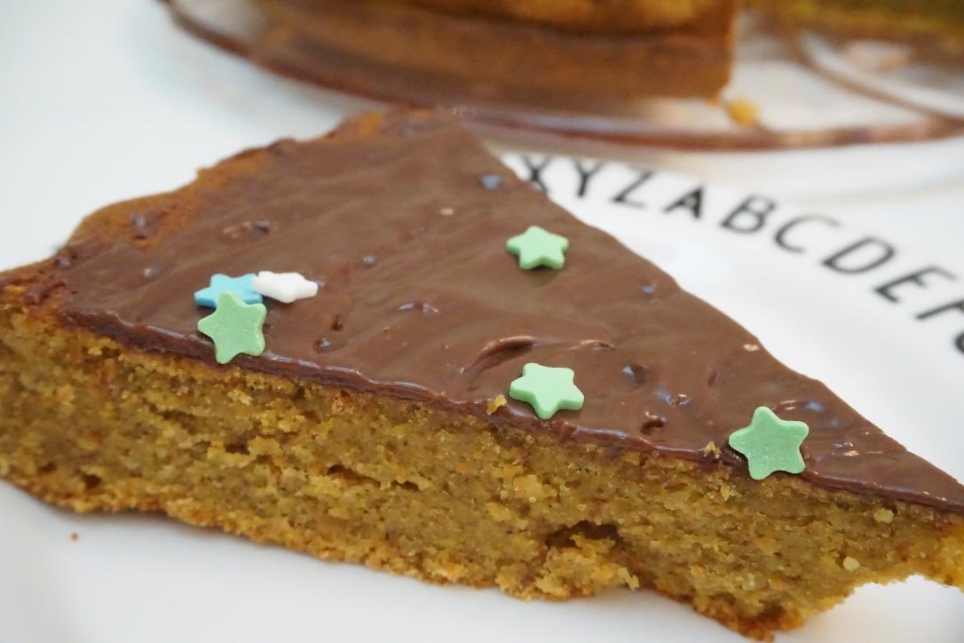 Saftiger gesunder Karottenkuchen mit Mandeln – Haddu Möhren?