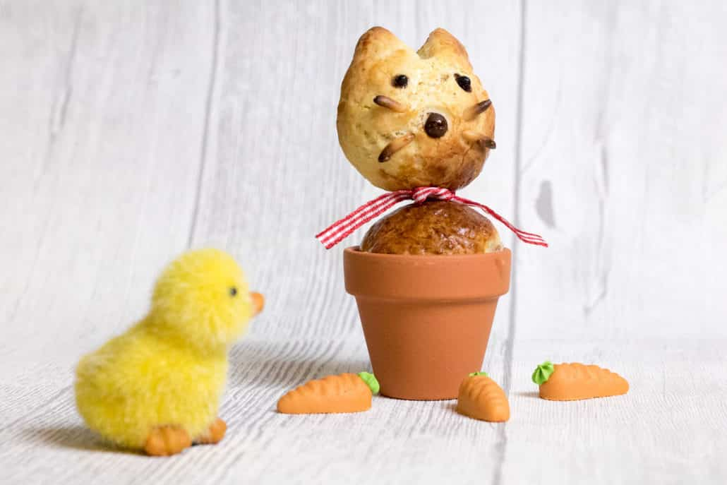 Osterfrühstück Frühstücksidee Ostern Hase backen