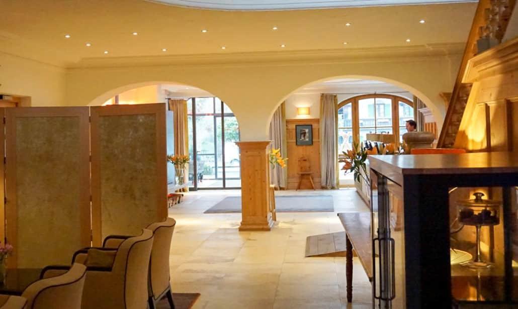 Empfang Hotel Bachmair