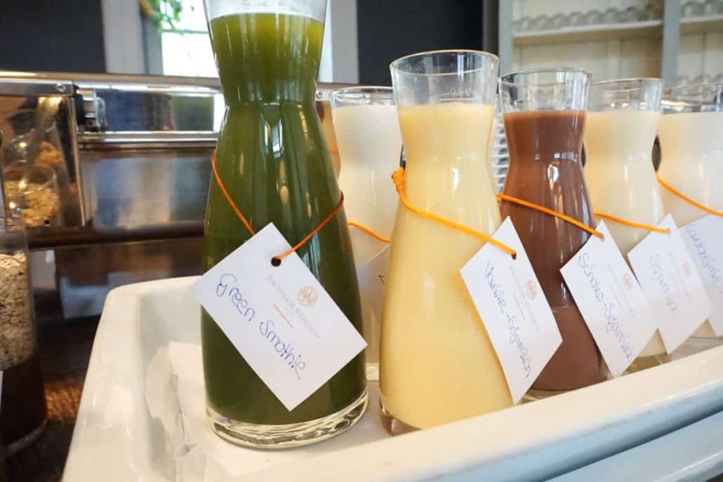 Smoothiebar Hotel Bachmair Weissach
