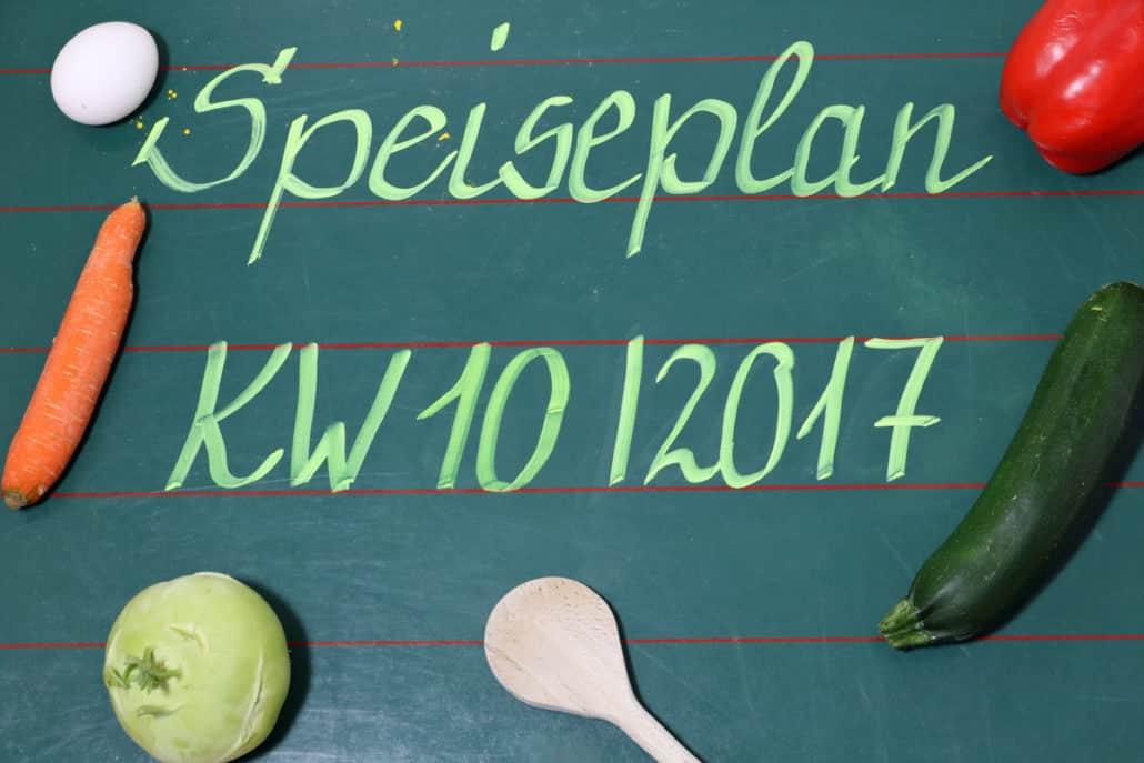 Speiseplan-Wochenplan-Essensplan