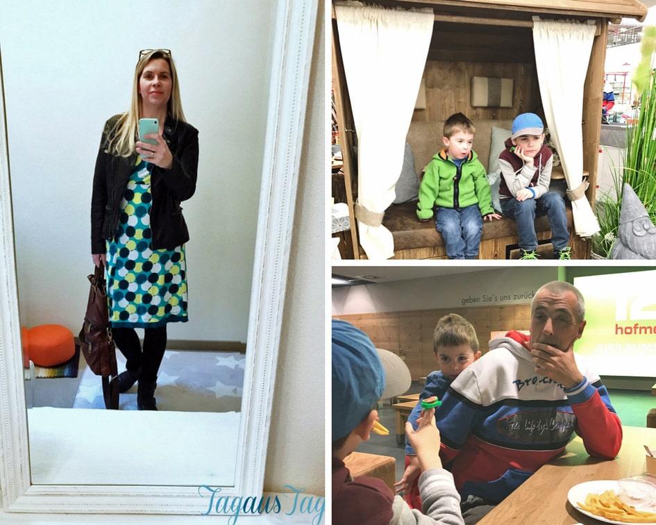 Wochenende in Bildern Besuch im Möbelhaus