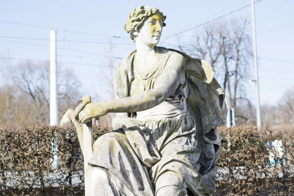 Wochenende in Bildern vs. 12 von 12 Statue