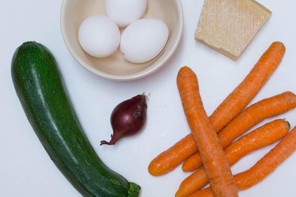 Gemüsepuffer Gemüsetaler