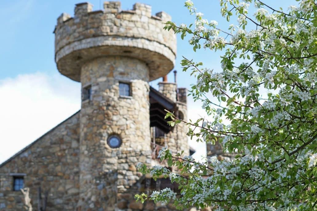 Jakubzburg in Mortka Sachsen Burg