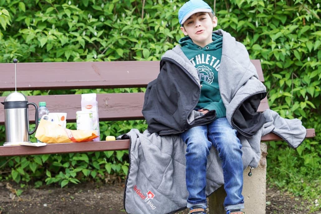 Gruezi Bag Multifunktionsdecke Sommerschlafsack Hüttendecke