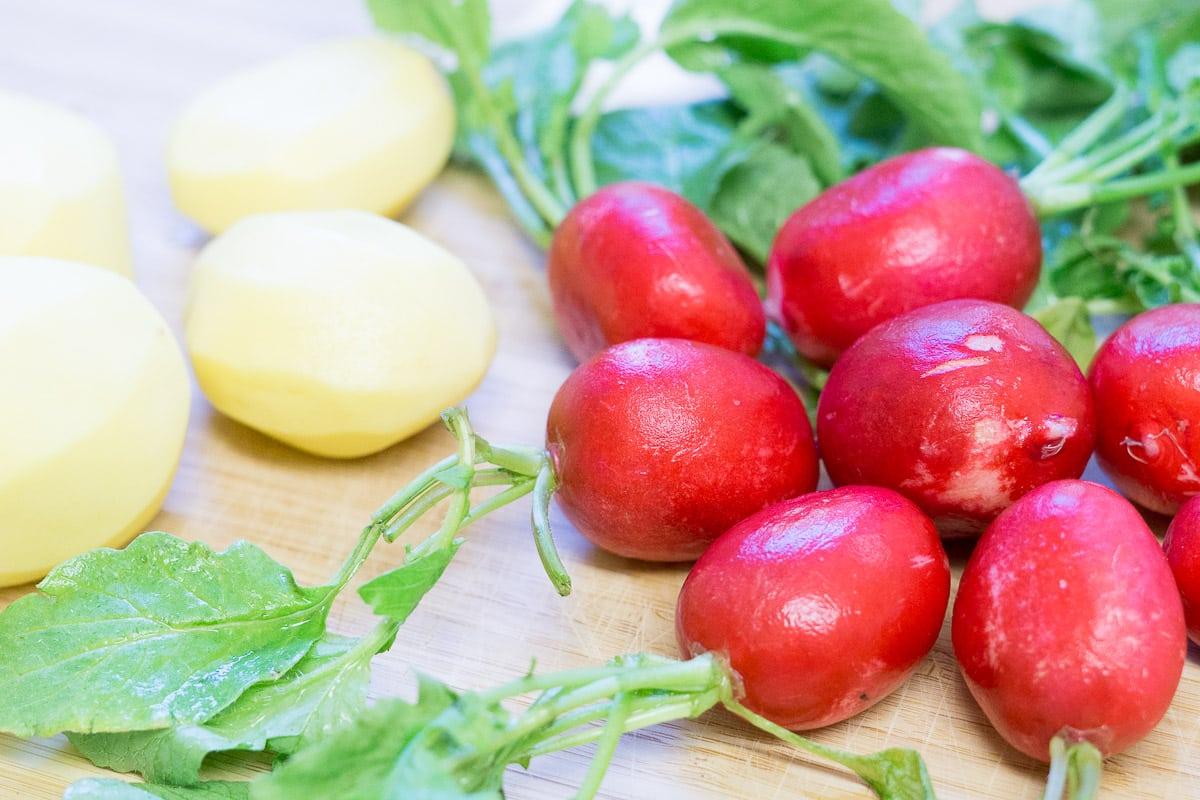 Kartoffel-Radieschen-Suppe – schnell und lecker in 20 Minuten
