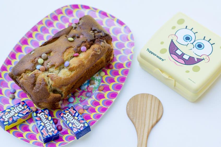 schneller Rührkuchen für Kinder - Resteverwertung Bananen