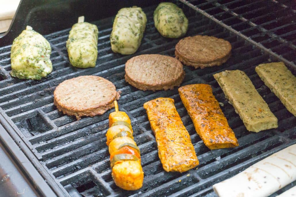Vegetarisch Grillen mit Produkten aus der Vegithek von EDEKA