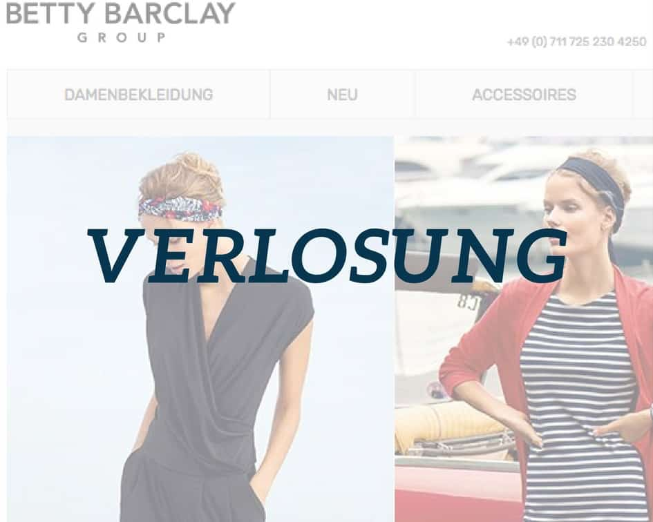 Verlosung Betty Barclay