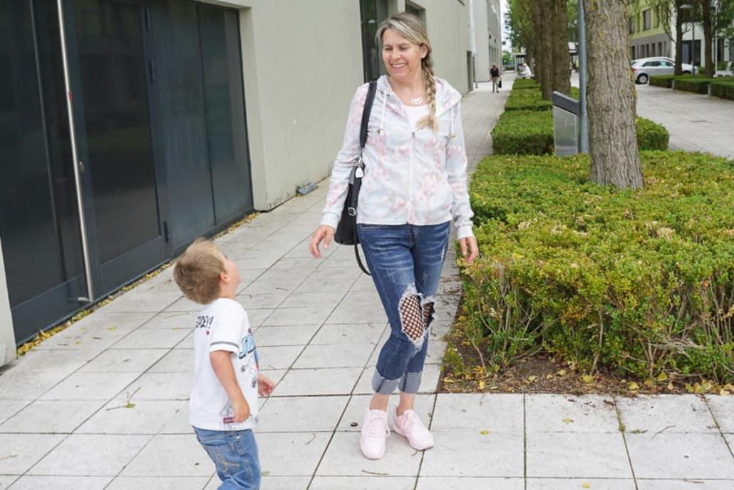 Heiße Höschen – Jeans mit Netzeinsatz von MillionX