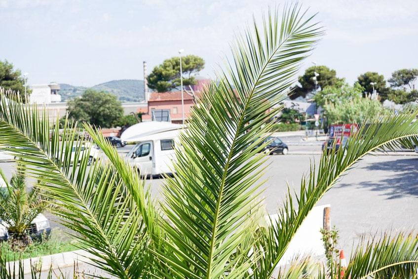 Wohnmobilstellplatz Hafen Piombino Elba