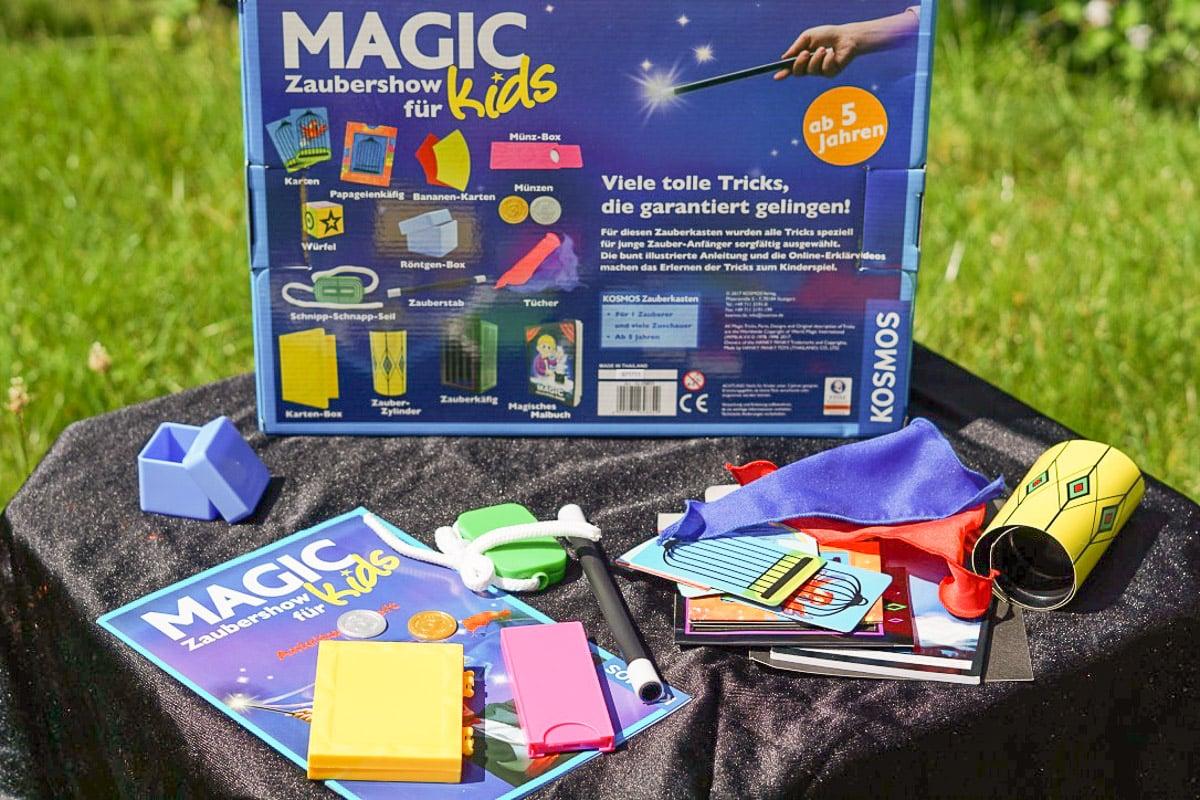 Hokuspokus – magische Show für kleine Zauberer