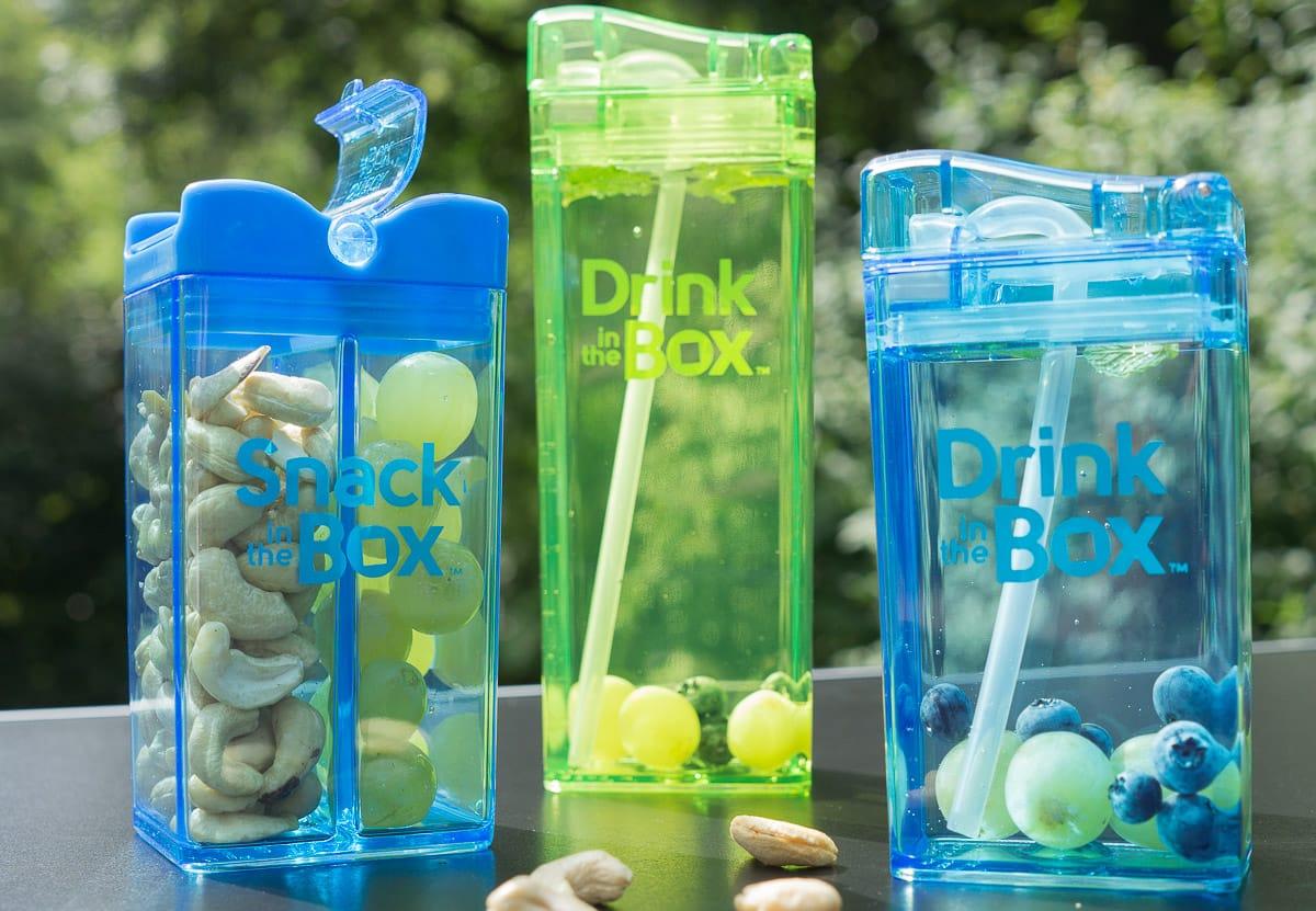 Drink in the Box – die auslaufsichere Trinkflasche