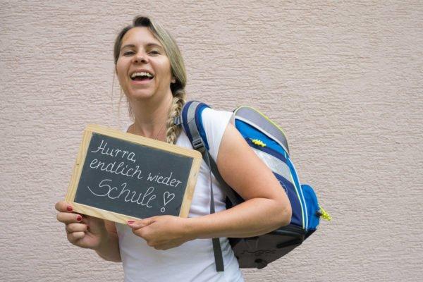 Schule Schulbeginn Endlich wieder Schule