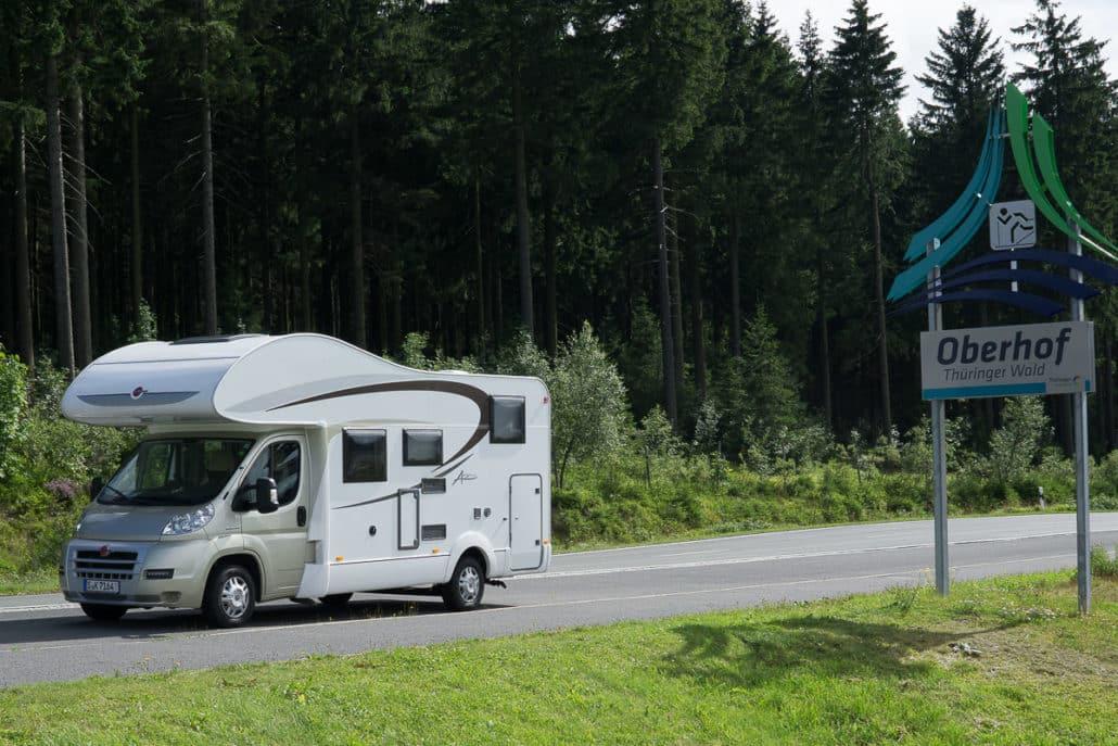 Urlaub im Wohnmobil Urlaub mit Kindern Urlaub Thueringen