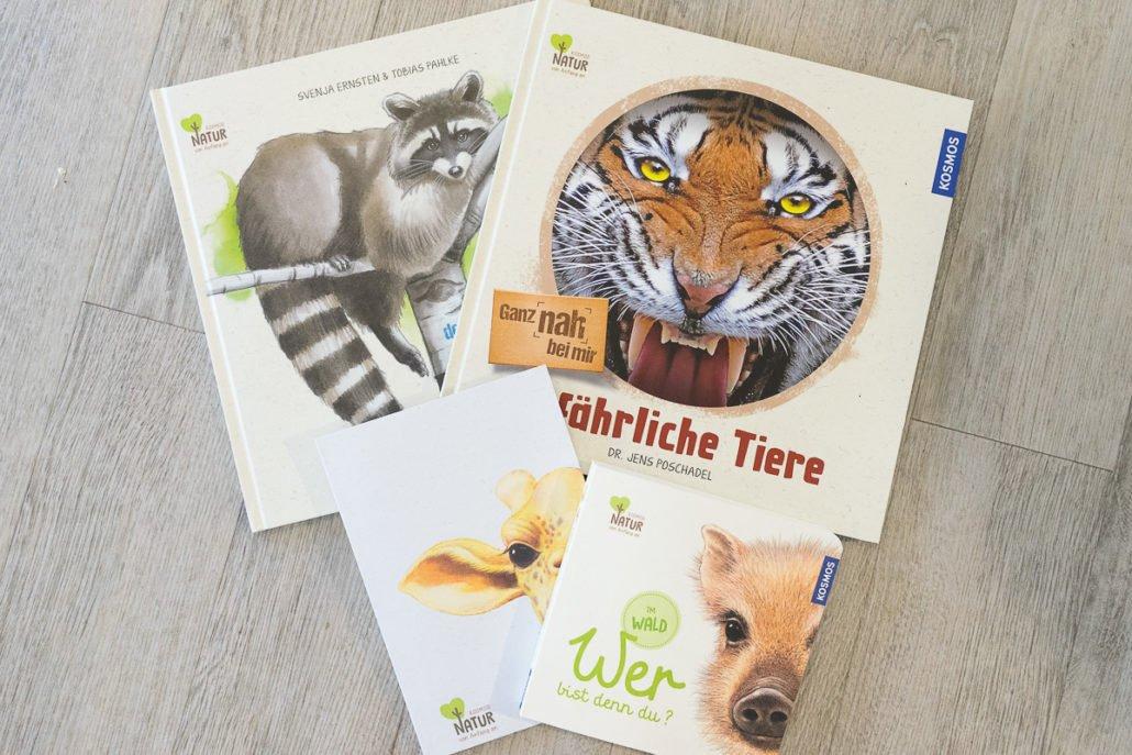 Bücher Kleinkinder Tiere Kosmos Verlag nachhaltig ungiftig