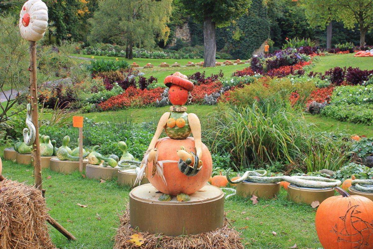 Kürbisausstellung Ludwigsburg, Ideen & Anregungen für Herbstaktivitäten mit Kindern, Ausflüge Herbst Kinder