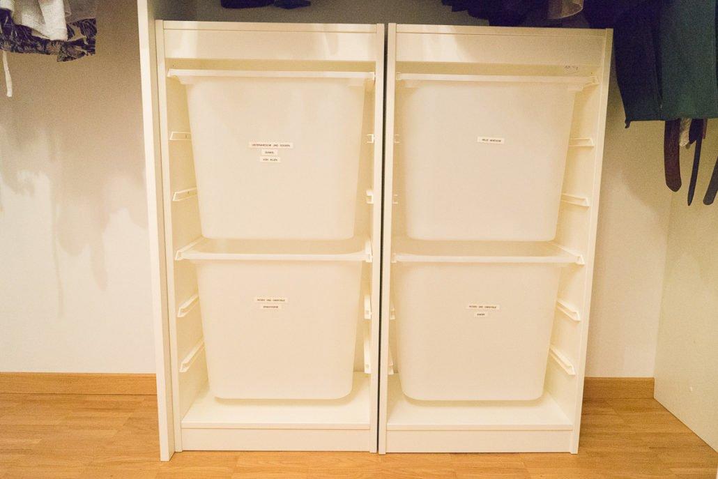 Wäschesortierssystem Ikea