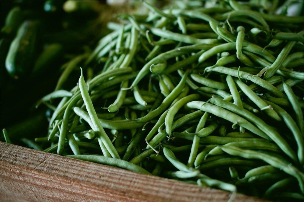 Grüne Bohnen, Bohneneintopf, Bohneneintopf mit Kassler