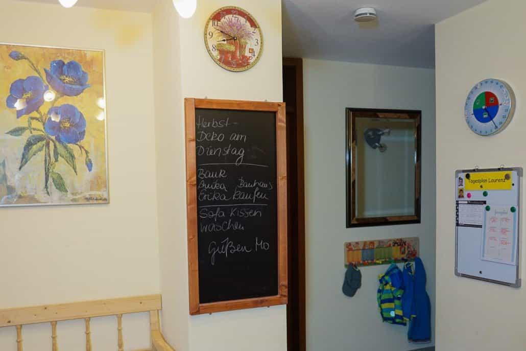 magnetische Tafelwand DIY, Tafelwand, Tafel Wand vorher