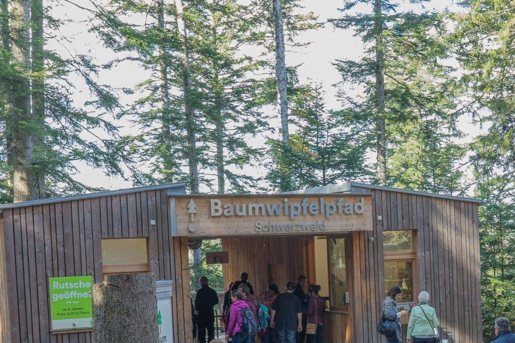 Baumwipfelpfad Bad Wildbad Schwarzwald Kurztrip Wohnmobil