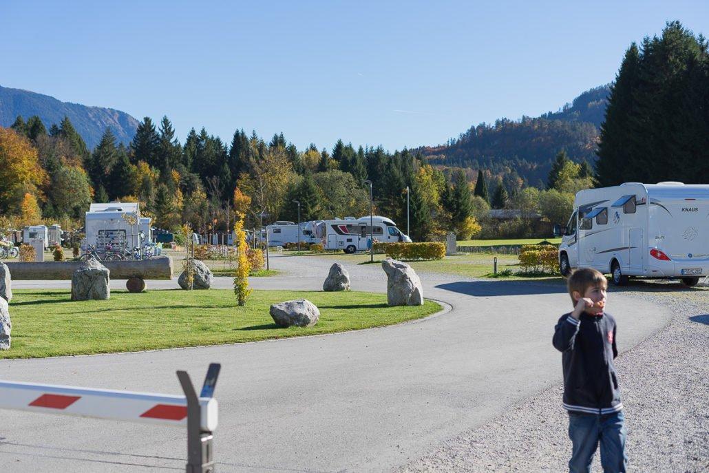 Wohnmobil Kurztrip zur Zugspitze/Camping Resort Zugspitze