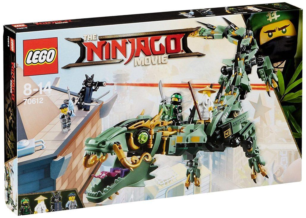 Geschenkideen für Jungs Ninjago Grüner Drache