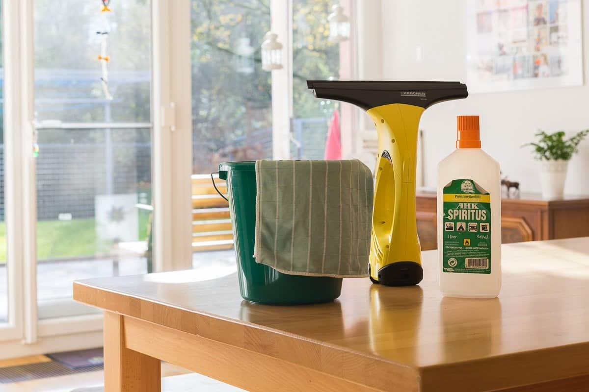Fenster putzen – schnell, einfach, streifenfrei