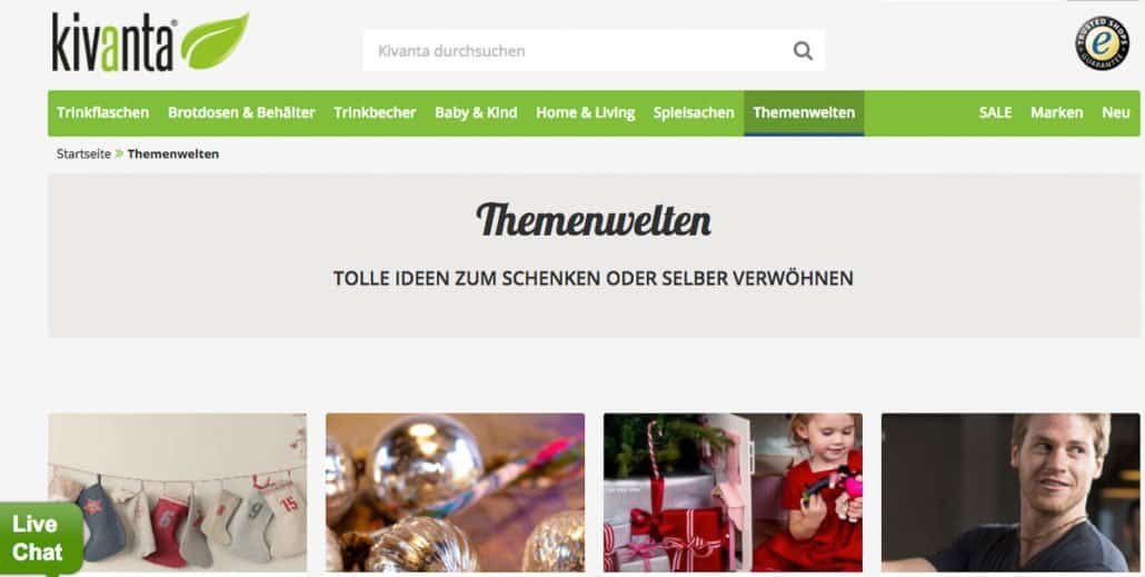 Kivanta Onlineshop