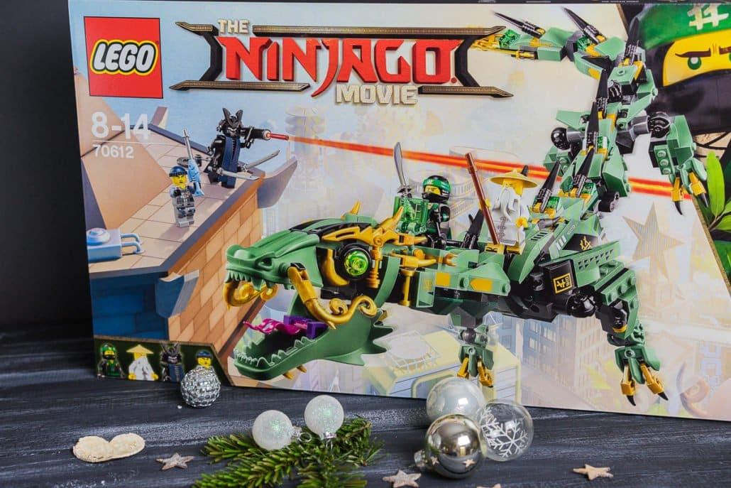 Adventsverlosung Lego Ninjago Grüner Drache