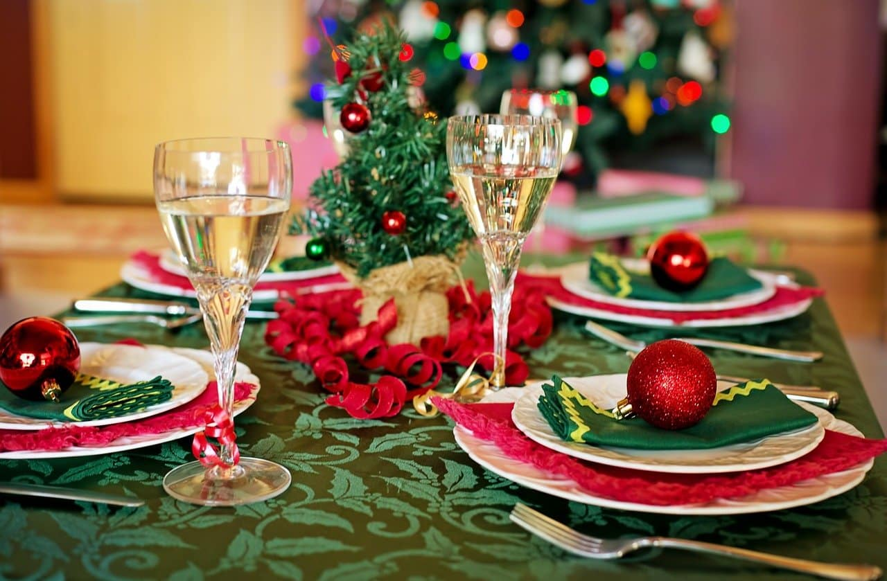 Weihnachtsmenü - Speiseplan